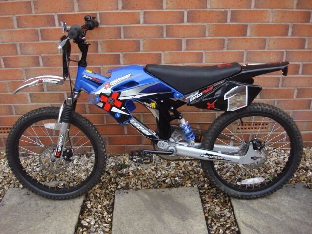 As New Ex Demo X Games Moto Bike Bmx Bicycle 20 Inch Disc