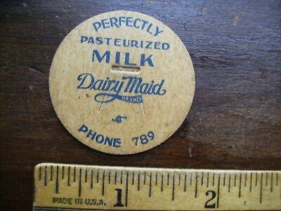 DAIRY MAID DAIRY VINTAGE MAVERICK MILK BOTTLE CAP LOT A-23
