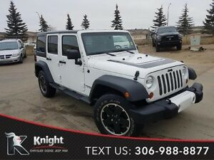 2012 Jeep Wrangler Unlimited Sahara *6 Speed Manual*
