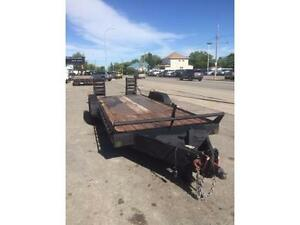 Mustang 20 ft. Equipment Trailer w/ 2, 7000 lb. Axles