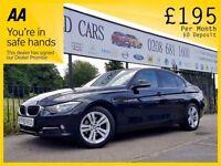 BMW 3 SERIES 2.0 320D SPORT 4d 184 BHP Need a Car? Can't Get Cr (black) 2012