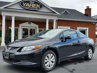 2012 Honda Civic LX, A/C, Auto, Power Group, Bluetooth, One Owne