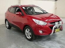 2012 Hyundai ix35 LM MY11 Elite (AWD) Red 6 Speed Automatic Wagon Gateshead Lake Macquarie Area Preview