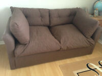 2 seater Metal action sofa bed