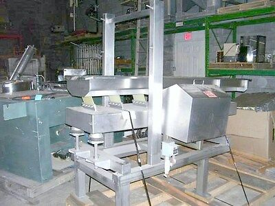 Smalley Vibratory Stainless Steel Feeder Conveyor 15 Wide X 84 Long X 37