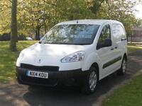 2014 14 Reg Peugeot Partner 850s L1 Hdi (51,000 Miles) Finance Available (Fsh)