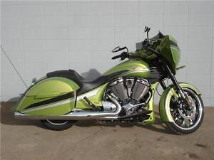 2015 Victory Magnum Plasma Lime Green