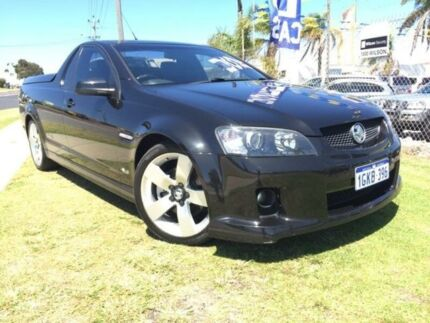 2009 Holden Ute VE MY10 SS V Black 6 Speed Manual Utility Wangara Wanneroo Area Preview
