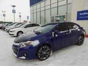 2014 Toyota Corolla S/LEATHER/SUNROOF/BACKUP CAM