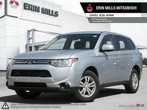 2014 Mitsubishi Outlander ES AWD BLUETOOTH HEATED SEATS USB