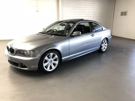 2004 BMW 325CI E46 MY04.5 Steptronic Silver 5 Speed Sports Automatic Coupe Seaford Frankston Area Preview