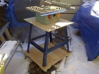 **REDUCED** BEAVER TABLE SAW CAST IRON WITH ALL ACCESSORIES