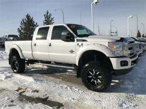 "2014 Ford  F-350  Platinum 8"" Lift 37 on 20"" Bernie 780 938-1230"