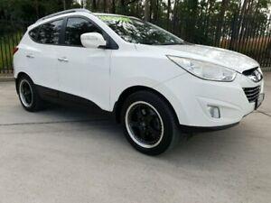 2013 Hyundai ix35 LM MY13 Elite (AWD) White 6 Speed Automatic Wagon Singleton Heights Singleton Area Preview