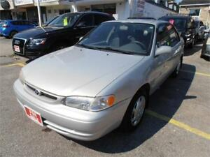 2000 Toyota Corolla Auto Grey 240,000km Selling as is