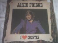 Vinyl LP I Love Country – Janie Fricke CBS 94948 1985