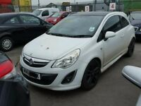 Vauxhall Corsa D Limited Edition 2011 61 **BREAKING** A12XER**WHITE**