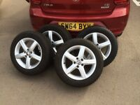 "ASPEN ALLOYS 15"" for VW POLO"