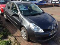 RENAULT CLIO 1.6 VVT Expression 5dr Auto (grey) 2006