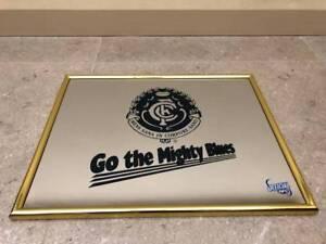 Carlton Football Club - Go the Mighty Blues -  Bar Mirror