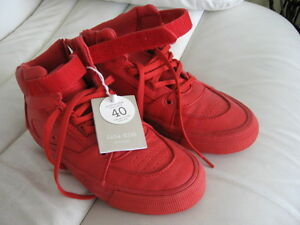 Women/ girls cool red sneakers