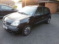 Renault Clio 1.2L 2002 16V Expression 5Dr - Great Little Car