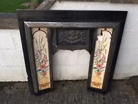 Fireplace Surround - High Quality, Cast Iron, Great Condition