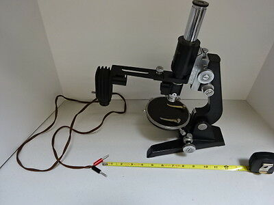 Microscope Vintage Reichert Wien Polarization Austria Pol Optics As Is Tb-4