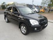 2009 Kia Sportage KM LX (FWD) Black 5 Speed Manual Wagon Condell Park Bankstown Area Preview
