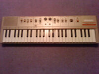 Vintage CASIO Casiotone MT-46 1980's Keyboard