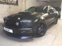 Ford Mustang 4.6 GT V8 ROUSH SUPERCHARGED COUPE 54K MAT BLACK MANUAL