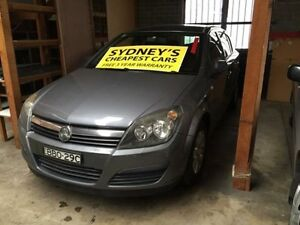 2007 Holden Astra AH MY07 CD Grey 5 Speed Manual Hatchback Five Dock Canada Bay Area Preview