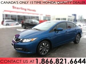 2014 Honda Civic EX | 1 OWNER | LOW KM'S