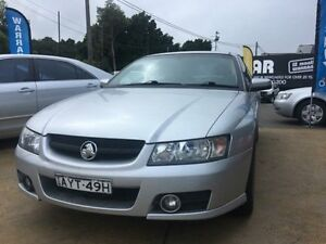 2006 Holden Commodore VZ MY06 SVZ Silver 4 Speed Automatic Sedan Islington Newcastle Area Preview