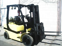 2008 Yale GLP050 - Solid-Pneumatic Forklift MM49