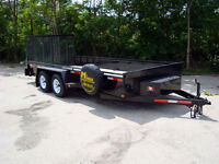 Contractor Package Landscape Trailers - Loaded, Ready to Work