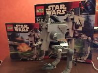 Lego Bundle Star Wars & Indiana Jones (Star Wars AT-ST, V-wing Fighter, Clone Troopers Jungle Cutter