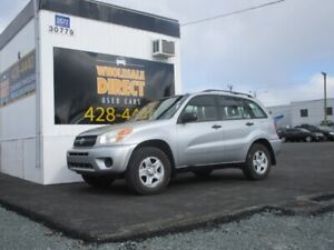 2005 Toyota RAV4 AWD 2.4 L ONLY 100,000 KMS!