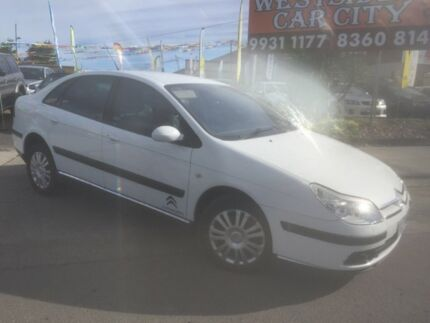2005 Citroen C5 HDi White 4 Speed Auto Active Sequential Sedan Laverton Wyndham Area Preview
