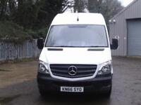 Mercedes-Benz Sprinter 314 MWB H/R VAN EURO 6 DIESEL MANUAL WHITE (2016)