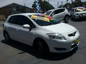 2007 Toyota Corolla ZRE152R Ascent White 4 Speed Automatic Hatchback Greenacre Bankstown Area Preview