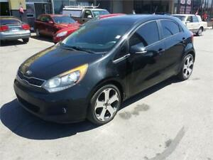 2013 Kia Rio SX,Push Start,Excellent Condition,Leather,Sunroof!!