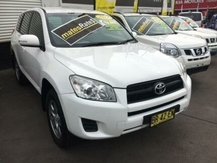 2012 Toyota RAV4 ACA38R MY12 CV 4x2 White 4 Speed Automatic Wagon