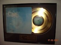 John Lennon Imagine Gold Plated Disc