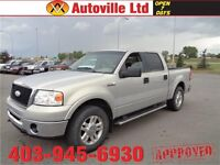 2006 FORD F150 LARIAT 4X4 CREW LEATHER ROOF $ 5988 EVERYONE APP