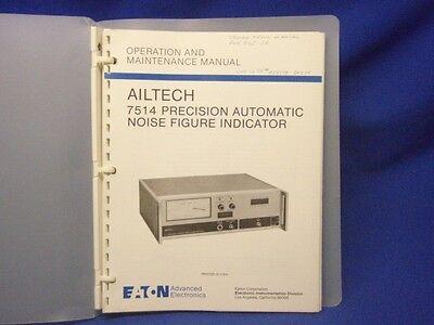 Ailtech 7514 Operation Maintenance Manual