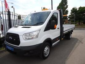 2015 65 FORD TRANSIT 2.2 TDCI 125PS DRW 13FT 10 DROPSIDE 1 STOP BODY