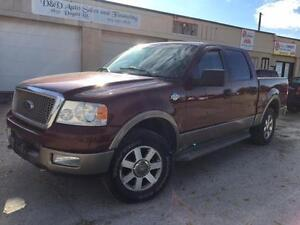 2005 Ford F-150 KING RANCH-LEATHER-LOADED-ALLOYS-SAFETIED