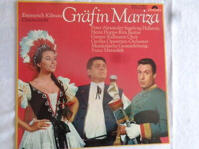 GRÄFIN MARIZA :  PETER ALEXANDER HALLSTEIN HOPPE FRANZ MARSZALEK