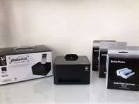 Bolle (Versus) PhotoPlus wi-fi wireless portable printer and 3 x 36 photo cartridges (+1 in printer)